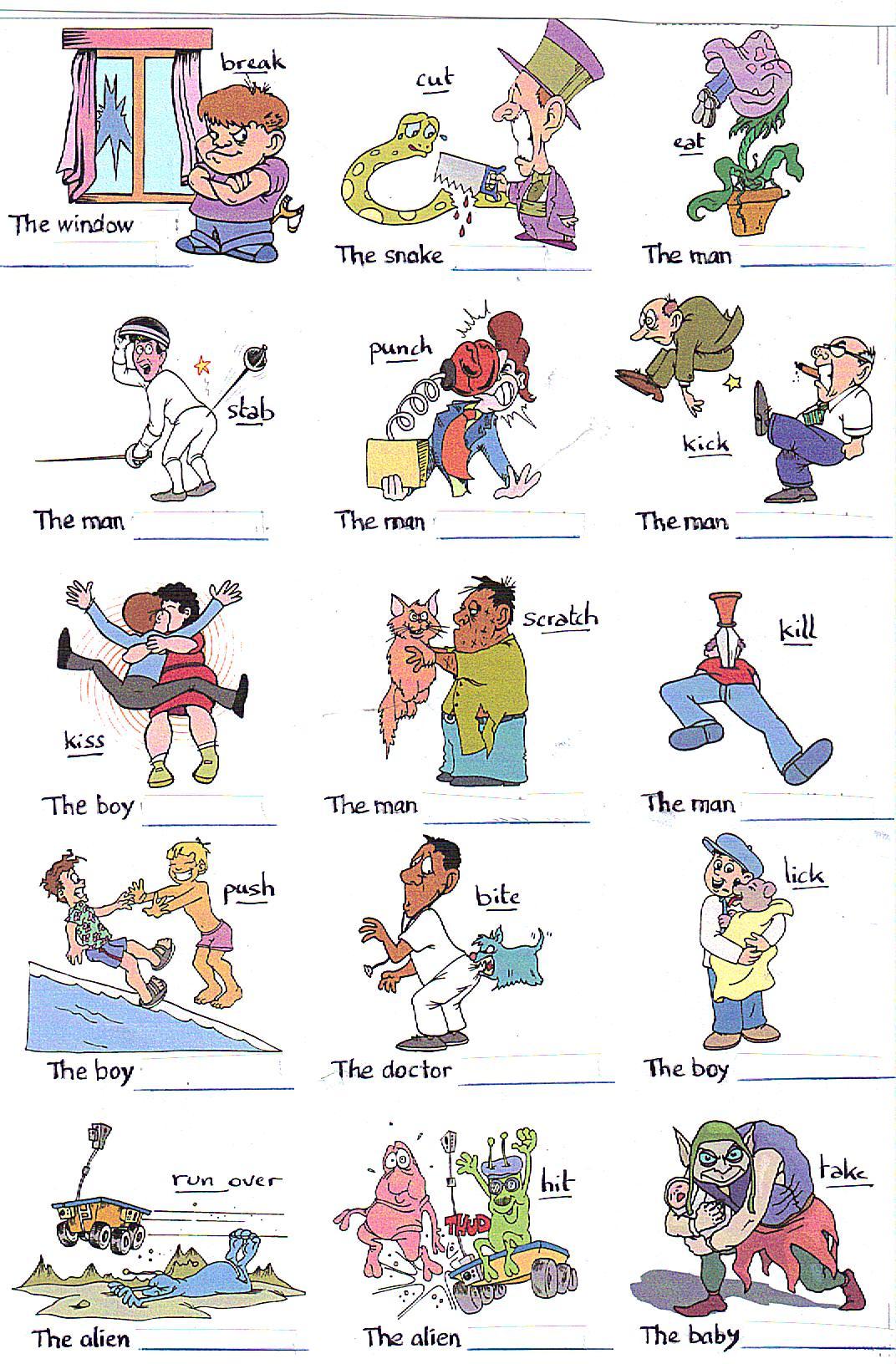 Forme Passive My Teacher Fr Apprendre L Anglais Par L Image Et Le Jeu