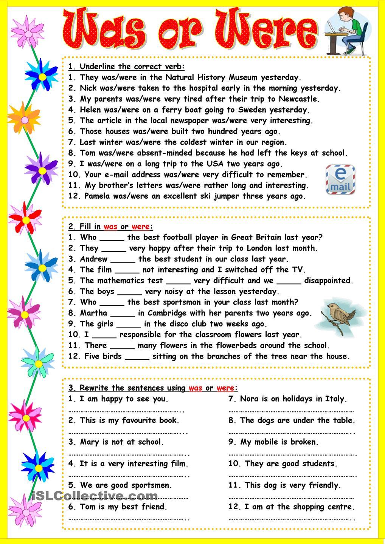 Be Au Passe My Teacher Fr Apprendre L Anglais Par L Image Et Le Jeu